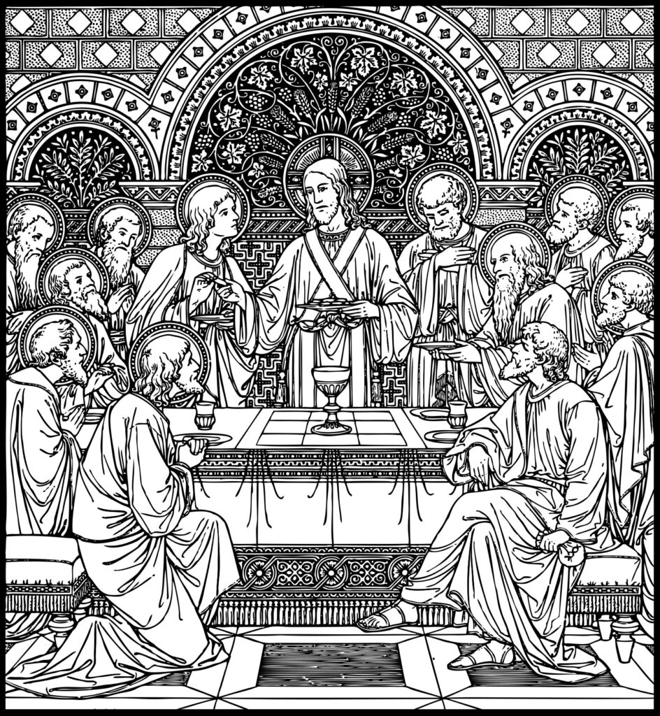 Holy Thursday The Mass Of The Lord S Supper Our Lady