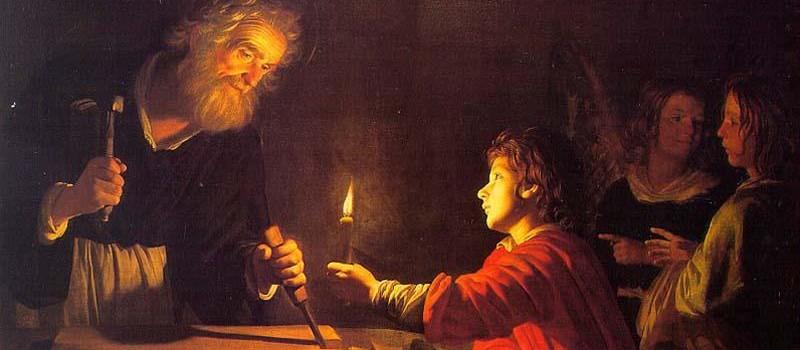 St.Joseph w/Jesus